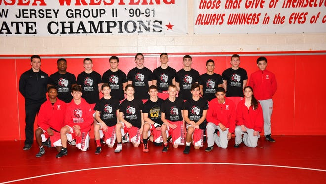 Delsea is The Daily Journal's Wrestling Team of the Year.