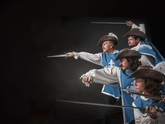 The Three Musketeers Promo #1