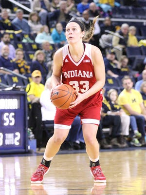 Clyde graduate Amanda Cahill finished her career at Indiana fourth all-time in scoring.