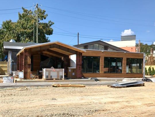 The new TakoSushi restaurant at 63 Southside Ave.,