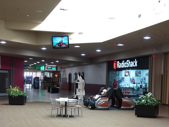 The Radio Shack store in East Town Mall in Green Bay