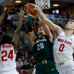 Michigan State Spartans lose to Ohio State Buckeyes, 80-64