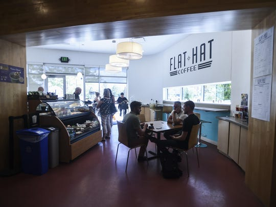 Flat Hat Coffee, Tuesday, Aug. 4, 2015, in Fort Collins, Colo.