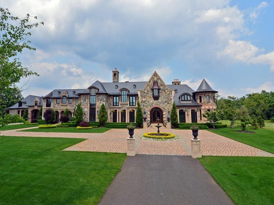The mansion sits on 26 acres.
