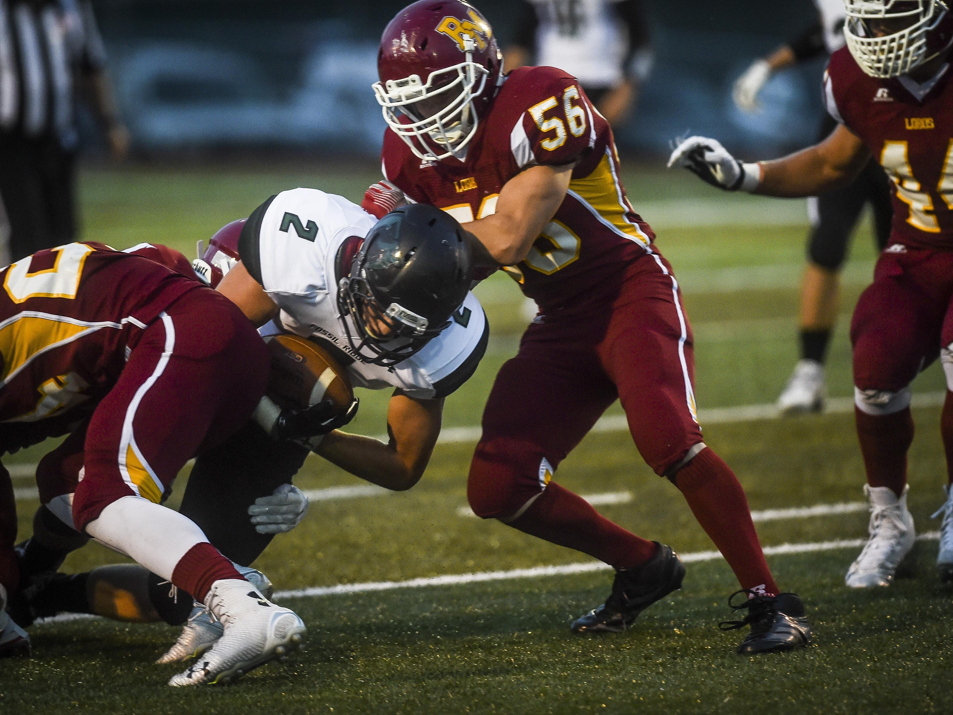 The Fossil Ridge and Rocky Mountain football teams play in Week 4 of the high school football season.