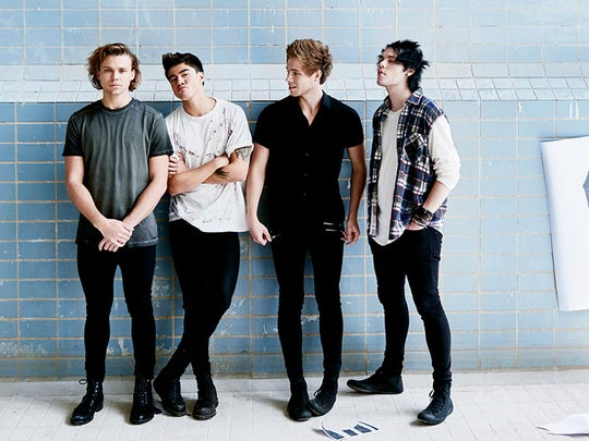 5 Seconds of Summer will perform at 7:30 p.m. Sept.