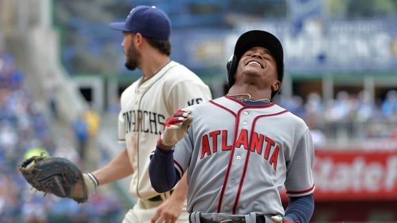 Mallex Smith and the Braves have baseball's worst record at 9-28, as Atlanta goes through a similar plan as the Reds.