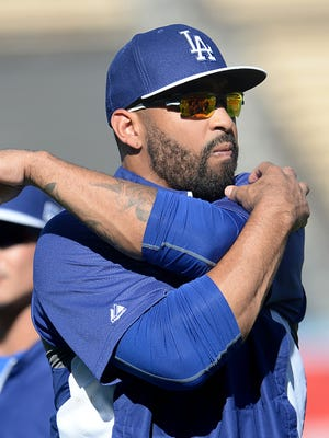 Matt Kemp hit .287 with 25 homers and 89 RBI over 599 at-bats in 2014.