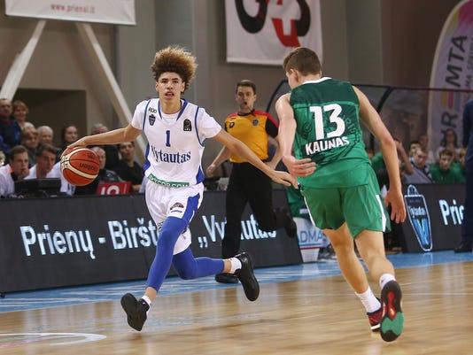 LAMELO BALL: Vytautas Prienai v Zalgiris Kauno