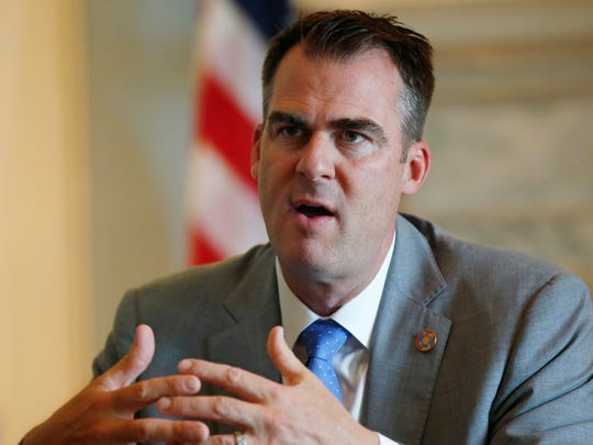 Oklahoma Gov. Kevin Stitt is trying to square off with Native American tribes, demanding a larger share of casino revenue for the state.