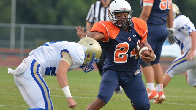 Blackman defeated Brentwood 42-21 on Friday night.