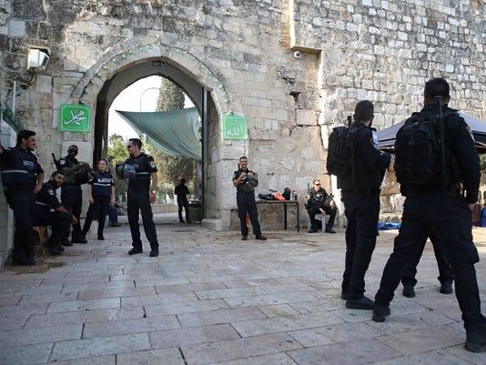 Jew Detector: Israel Removes Metal Detectors From Contested Jerusalem Shrine