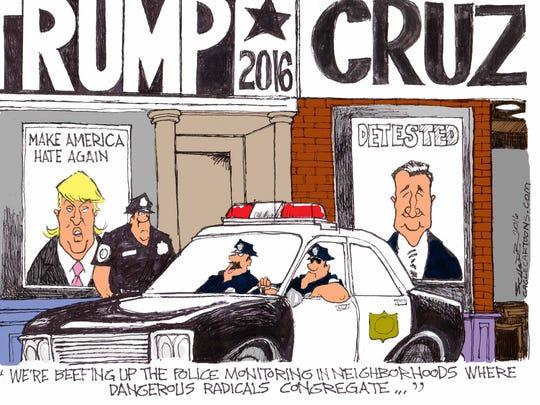 Trump vs. Cruz 2016