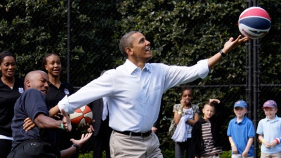Obama Easter Egg Roll