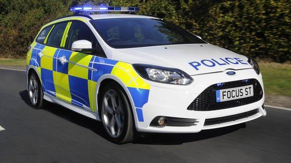 Focus ST police car