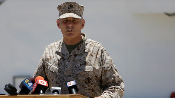 Words of a general who lost a son in combat resonate