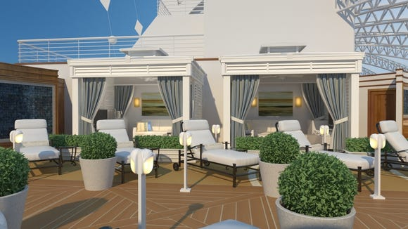 Next Princess Cruises Ship To Have Private Cabanas