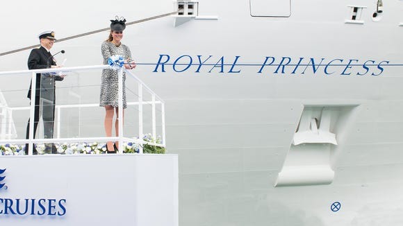 royal princess christening