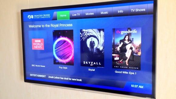 Royal Princess television