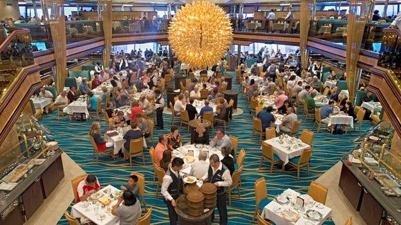 Carnival Sunshine dining