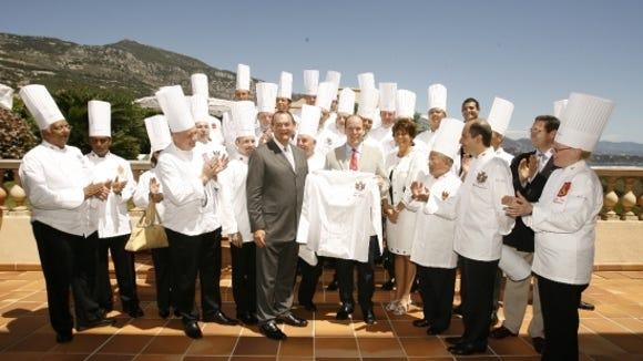 Royal chefs