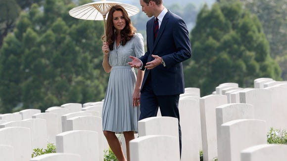 Will Kate war cemetery