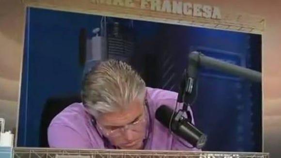 Francesa dozes on the air.