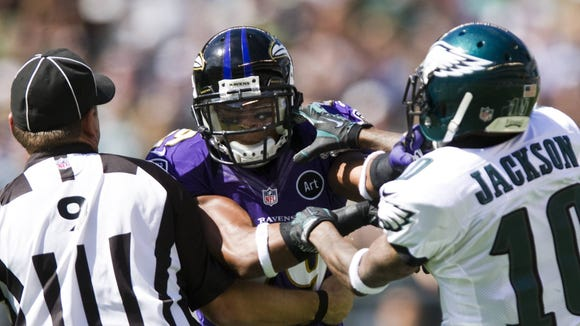 Eagles-Ravens scrap