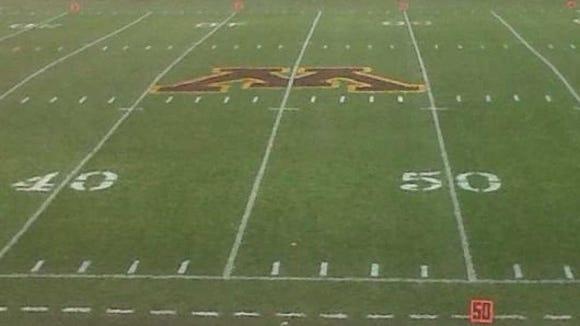 Minnesota 45-yard line