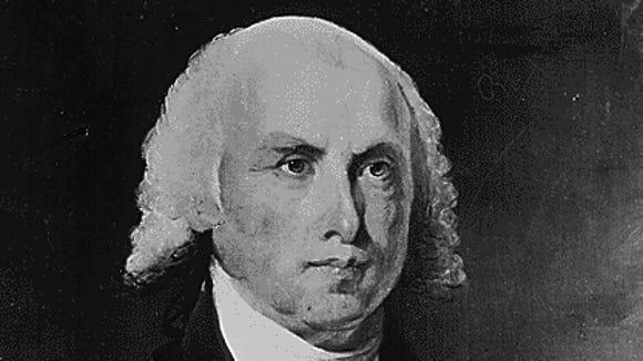 9 27 2012 James Madison portrait