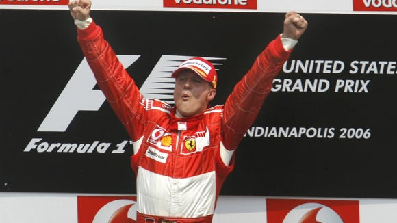 10 04 2012 schumacher jumps for joy