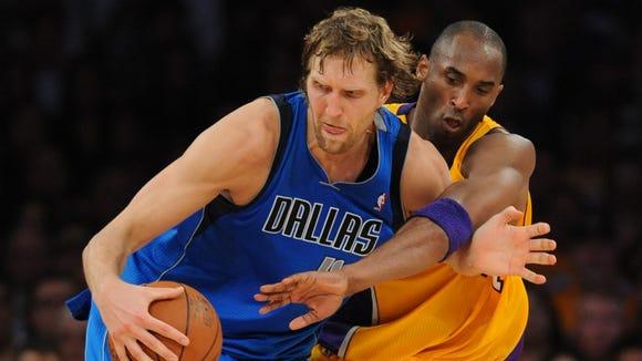 10 050 2012 Dirk battles Kobe