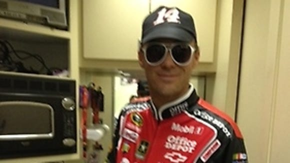 2012-10-5 kevin harvick halloween costume