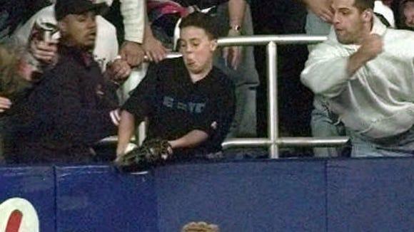 10 08 2012 Jeffrey Maier home run
