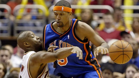 10 10 2012 jalen rose with knicks