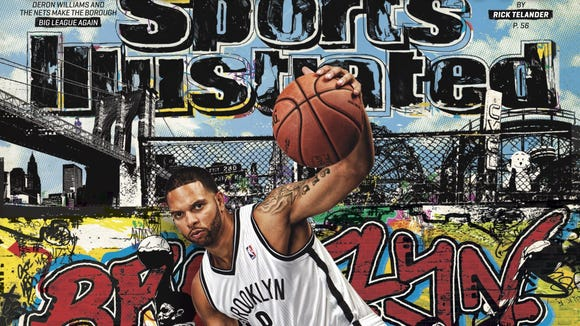 10 10 2012 Deron Williams cover of SI
