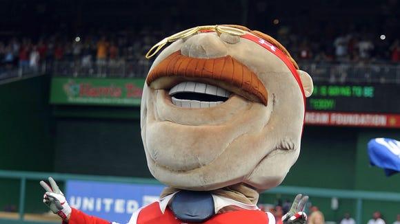 10 12 2012 Teddy Roosevelt mascot