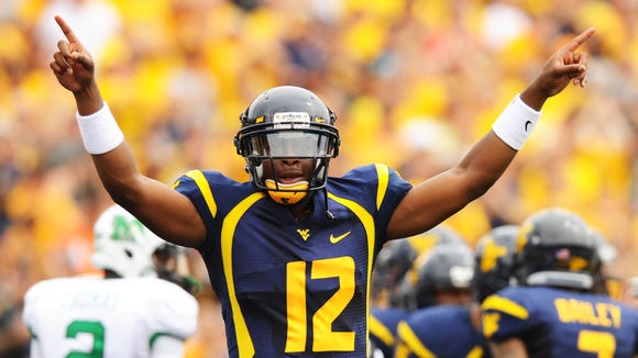 10 16 2012 Geno Smith number one