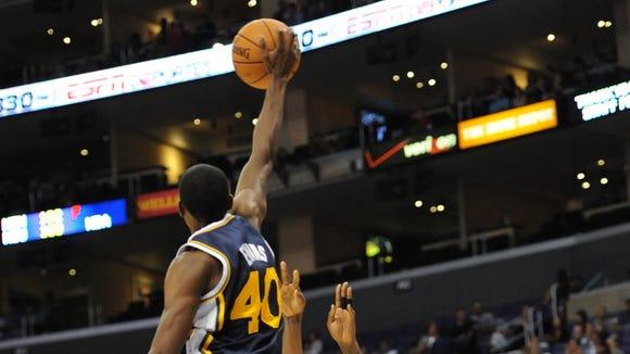 Jeremy Evans dunk