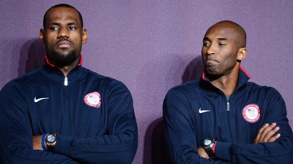 10 19 2012 LeBron and Kobe