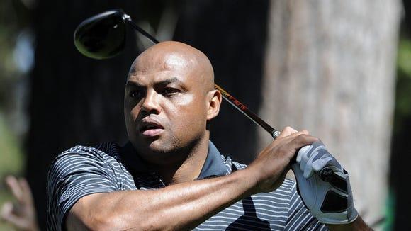 10 22 2012 Charles Barkley golf