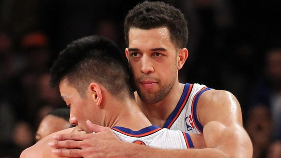 10 22 2012 Landry Fields Jeremy Lin