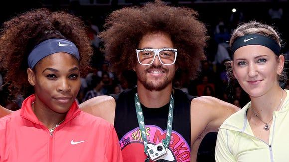2012-10-25 Serena azarenka redfoo