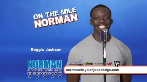 2012-10-31 Norman jingle Reggie Jackson OKC