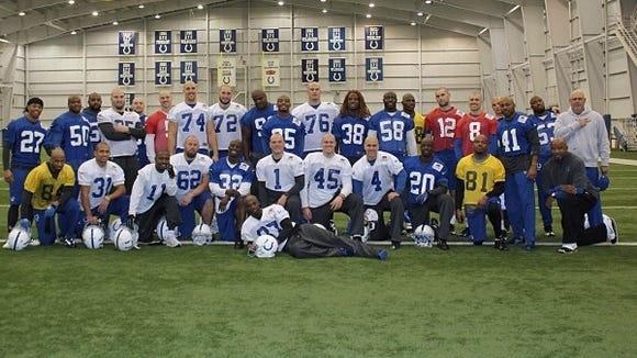 2012-11-07 Colts Pagano head shaves
