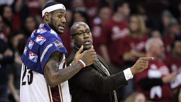 LeBron James, Mike Brown