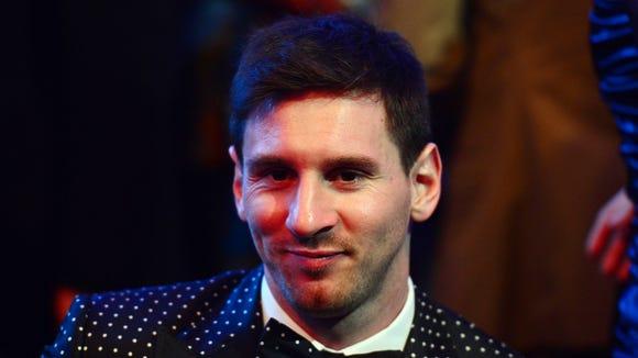 2012-1-7 Messi