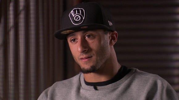 2013-1-12 Kaepernick hat