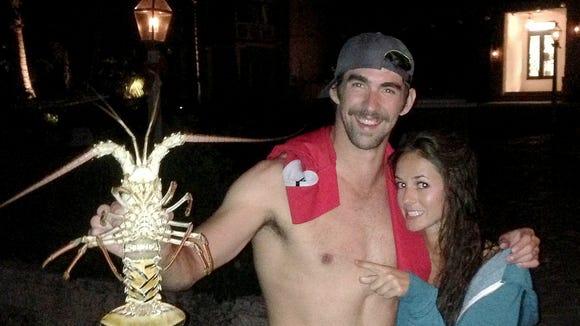 2013-02-15 Michael Phelps Sarah Herndon