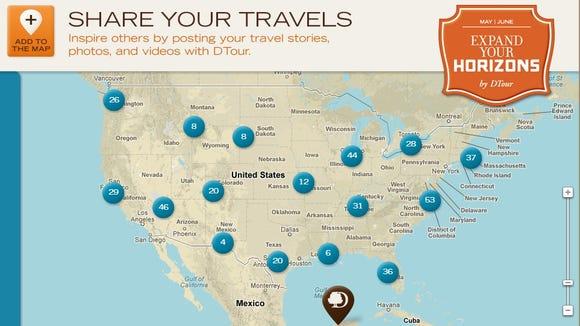 DTour map
